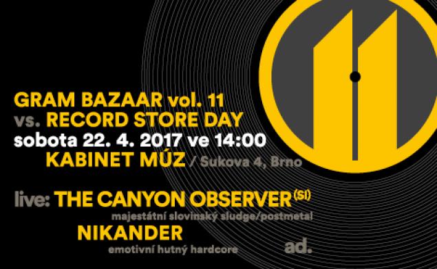 Jedenáctý Gram Bazaar ve znamení Record Store Day | Hudební