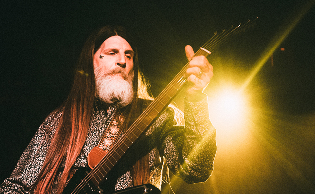 Dylan Carlson + Unkilled Worker + Dimitar, 31.3.2019, Futurum Music Bar, Praha