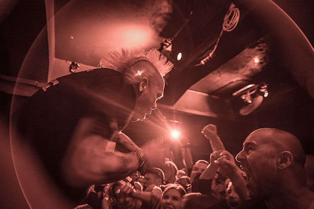 The Exploited + Maid of Ace, 29.10.2019, Storm, Praha