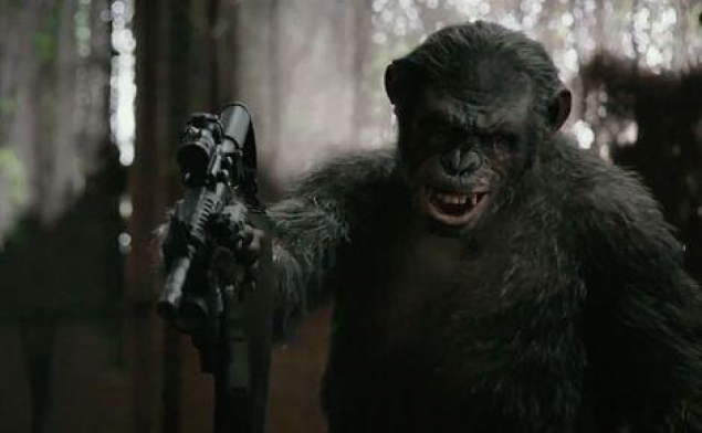 Ave Caesar! (Dawn of the Planet of the Apes)
