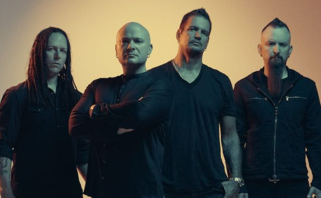 Disturbed na Evolution World Tour